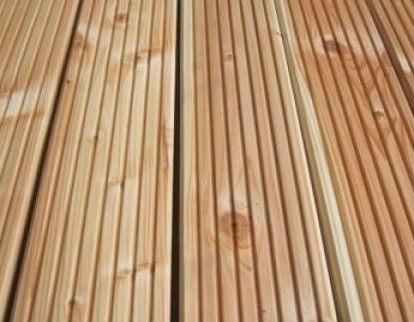 Duurzaam hout buiten