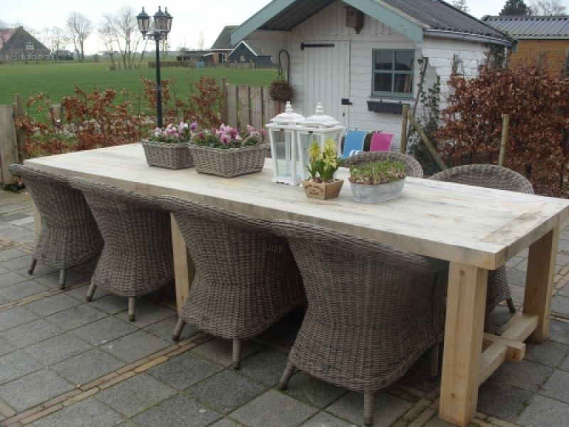 Ecohout tafel eik